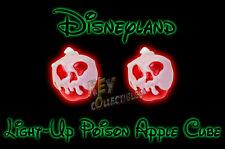 2017 Disneyland Halloween Snow White POISON APPLE LIGHT UP CUBES - 2 CUBES