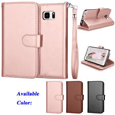 For Samsung Galaxy Note 5 Luxury PU Leather Wallet Case Card Holder Flip Cover