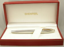 Sheaffer Triumph Imperial Palladium & Gold Fountain Pen in Box - M Nib - 1990's
