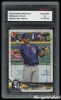 🌟2018 Fernando Tatis Jr. Bowman Topps Prospects 1st Graded 10 S.D. Padres Card