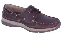 Slatters Footwear Boat shoes men's leather Slatters Shackle