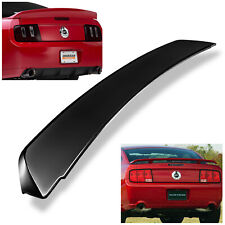 For 2005 2009 Ford Mustang Gt Style Gross Black Rear Trunk Spoiler Wing Fits Mustang