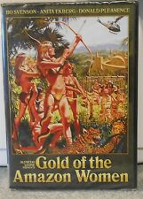 Gold of the Amazon Women (DVD 2001) RARE CODE RED 1979 TV FANTASY ADVENTURE NEW