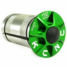 """KCNC 1-1/8"""" Alloy Expander With Cap , Green"""