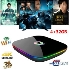 Q Plus TV Box Android9.0 H6 4GB+32GB 6K H.265 Media Player S905X2 2.4G WiFi P0H5