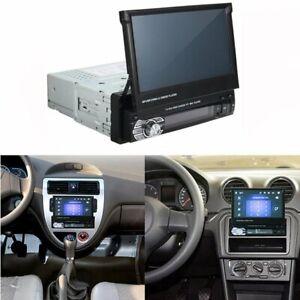 Radio Para Auto Con Pantalla 1 Din Sencillo Pantalla Tactil Bluetooth FM AUX