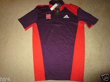 London Olympics Soccer Adidas Polo Shirt SM S NEW