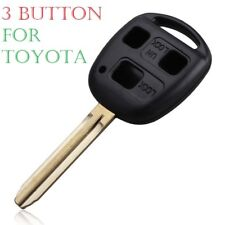 3 Button Toy43 Remote Key Case Fob Cover For Toyota Avensis Corolla Yaris Rav4