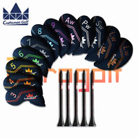 For Titleist Ping Golf Iron Covers Club Headcovers Neoprene Color LW Craftsman