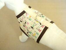 April Showers Dachshund Dog Harness Vest Clothes Apparel