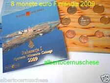 2009 8 monete 3,88 euro FINLANDIA finlande suomi finland I serie Финляндия 芬兰