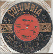 FRANK IFIELD I Remember You / I Listen To My Heart 45