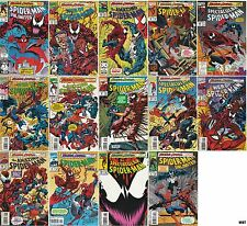 SPIDER MAN MAXIMUM CARNAGE 1 2 3 4 5 6 7 8 9 10 11 12 13 14 complete set! VF/NM!