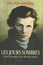 FEY VON HASSELL LES JOURS SOMBRES