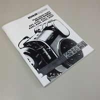Kohler k301 service manual free
