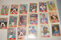 25 CARDS- ALL ARE 1987 TOPPS AND ALL ARE *CHICAGO CUBS*