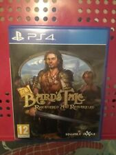 THE BARD'S TALE: REMASTERED & RESNARKLED (PLAYSTATION 4) Excellent Condition!