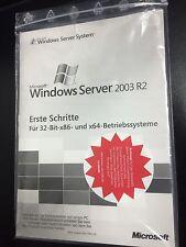 MS Windows Server 2003 Standard R2, 32bit incl. 5 CALs mit MwSt-Rechnung