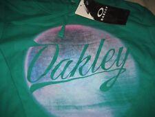 WOMENS OAKLEY Hoodie Jacket Top MEDIUM M GREEN   NWT