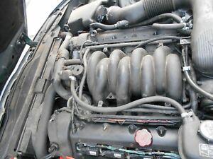 Jaguar XK8 4.0 V8 Bare Engine. Good runner. AJ27. 2 sensors. 2000-2003. 130k mil