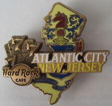 Hard Rock Cafe Atlantic City 3D World Map Series Pin 2017