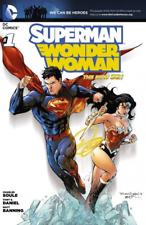 Superman And Wonder Woman The New 52 Dc Comics #1 Rare Comic Book Collectible