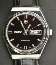 Vintage Rado Companion Swiss Made 25 Jewels Automatic Day Date Men's Watch
