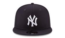 NEW ERA 9FIFTY SNAPBACK HAT.  MLB.  NEW YORK YANKEES.  NAVY BLUE.