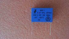 NEU 2 x Folienkondensator 250V RM 15mm 5/% 1µF