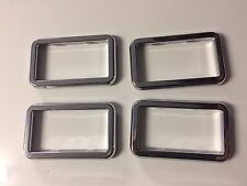 HOLDEN COMMODORE HDT VB VC SLE BROCK CHROME INNER DOOR HANDLE SURROUNDS