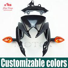 For FZ8 Front Headlight Side Fairings Windshield Speedometer Bracket Turn Light