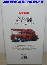 Coffret Pompier 150 jahre Berliner Feuerwehr HO 1/87 Wiking