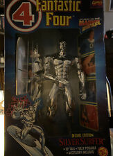 """Fantastic Four Silver Surfer Deluxe Edition 10"""" Figure Marvel Toy Biz 1994 NEW"""