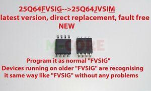 WINBOND 25Q64FVSIG W25Q64F 25q64 (25Q64JVSIM) FLASH 8 SPI EEPROM 1,2,or5pcs g5