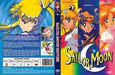 Sailor Moon Movie Trilogy Collection All 3 Movies in English!  R, S, Super DVD