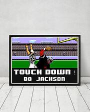 Tecmo Bowl Nintendo 8 Bit Football Custom Art Poster Print Touchdown Bo Jackson