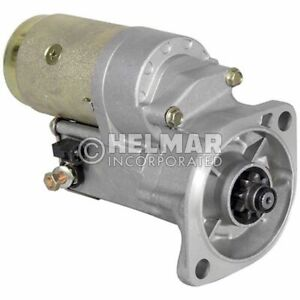 Fits Hyster Forklift Starter 1519632-NEW Straight Drive :No Gear Reduction Yes