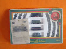 Berliner Bahnen TT 1:120 Vintage Rare hobby train TT Steam lok GDR Set BR 81