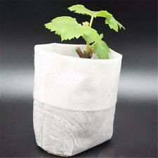 Lot 50pcs Nursery Pots And  Bags Non-woven Fabrics Garden Supplies 8*10 Fashion