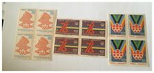 stamps TURKEY A501 #2038-2040 Montreal Olympic Emblem and Flame MINT MNH BLOCKS
