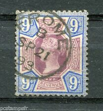 Great Britain, GB, 1887, Stamp Classic 101 Victoria Obliterated, VF Used Stamp