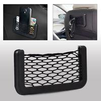 New Car Auto Storage Mesh Net Mobile Phone Organizer Bag Holder Pocket Universal