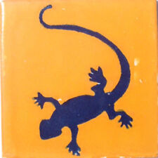 C#045)) MEXICAN TILE SAMPLE WALL FLOOR TALAVERA MEXICO CERAMIC HANDMADE POTTERY