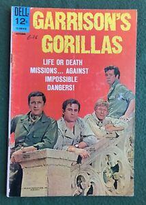Garrison's Gorillas #4 Dell Comics Silver Age war stories classic tv g/vg