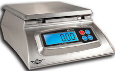 Digitale Küchenwaage MyWeigh KD7000 silber 7kg / 1g Digitalwaage inkl. Netzteil