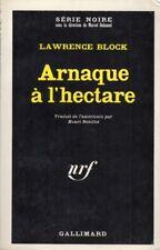Série Noire n° 1099 - Lawrence Block - Arnaque à l'hectare - 1967