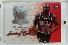 2007 07-08 Fleer Ultra Season Crowns Michael Jordan #SC-22, Insert, Silver