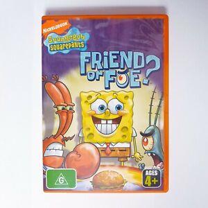 Spongebob Squarepants Friend Or Foe DVD Region 4 AUS Free Postage