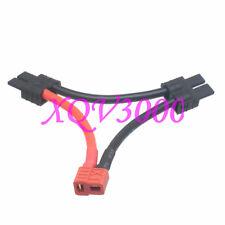 Esc Xt Anti-Slip T-Plug Female to Dual Traxxas Trx Male Series 12Awg 5Cm