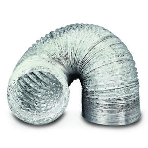 Aluminium Foil Flexible Ducting - Ventilation & Hydroponic Accessory & Stage Set